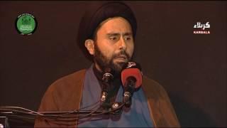 سماحة السيد حسين البدري | أهمية الشعائر الحسينية | المخيم الحسيني الشريف - محرم 1438هـ