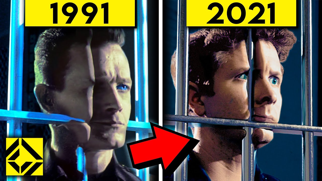 This 30-Year-Old Terminator VFX BLEW OUR MINDS!