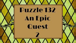 Professor Layton and the Azran Legacy - Puzzle 132: An Epic Quest 2