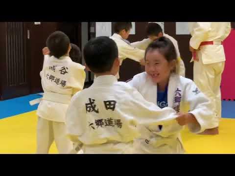 六郷道場(柔道)今日は内股の練習をしました!