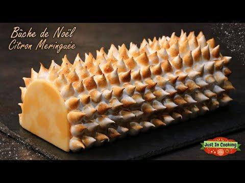 ❅-recette-de-bûche-de-noël-citron-meringuée-❅