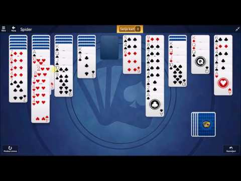 Microsoft Solitaire Collection - Spider November 8 2016