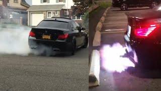 Bmw M5 E60 V10 Supercharger - Brutal Accelerate, Drift, Burnout, Fire exhaust