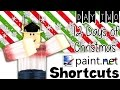 Paint.net Shortcuts - Day 2/12 Days of Christmas || ROBLOX