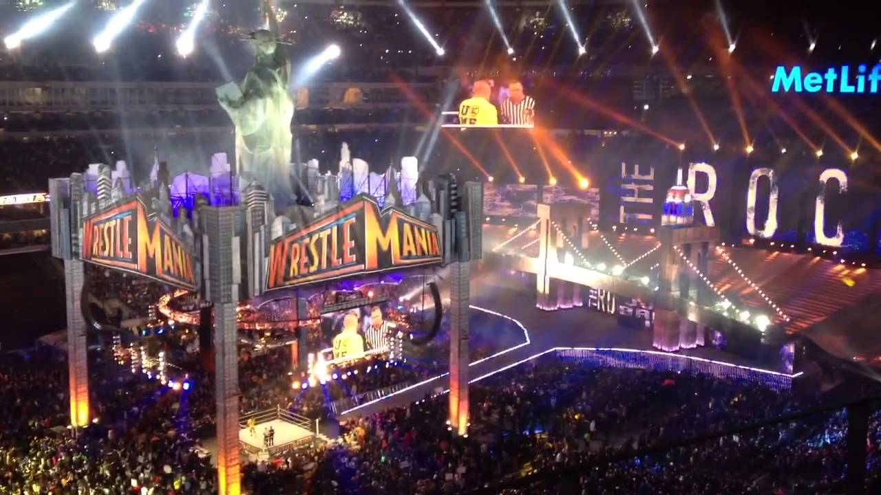 WrestleMania returns to MetLife Stadium in April 2019