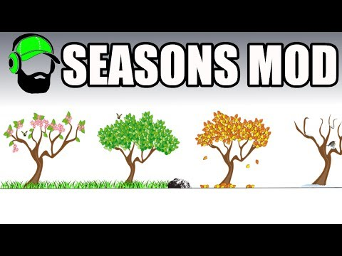 Farming Simulator 17 - How to use Seasons Mod Ft Marc Dupont  #FS17