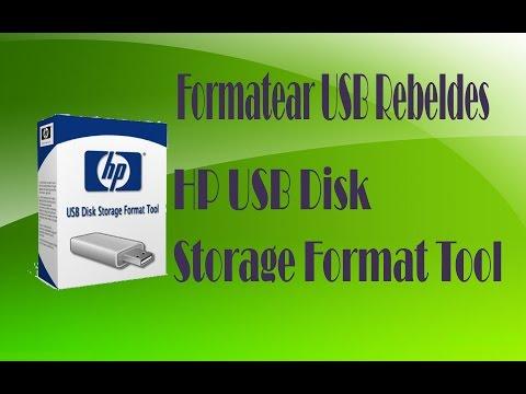 Formatear USB Rebeldes | HP USB Disk Storage Format Tool