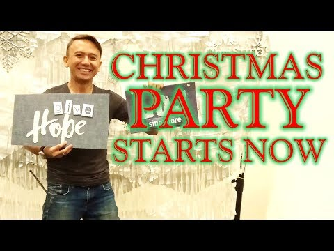 Christmas Party Starts Now   Christmas In Singapore 2017 At Expo Convention & Exhibition Centre