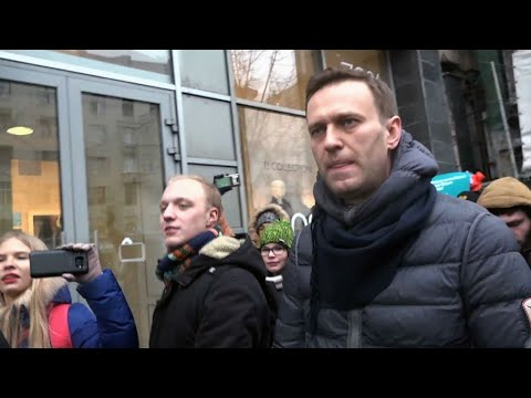 Russia: opposition leader Navalny released without charge, lawyer says