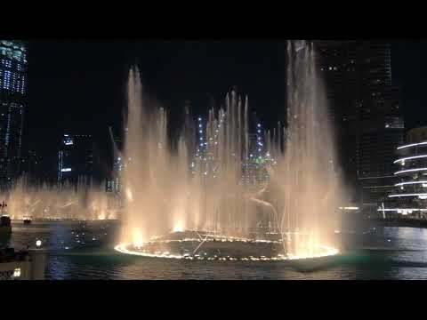 Baby Shark – Dubai Fountains – 2019