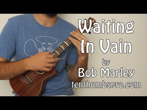 Waiting In Vain - Ukulele Tutorial - How To Play Easy Bob Marley Songs on Ukulele - Reggae Ukulele