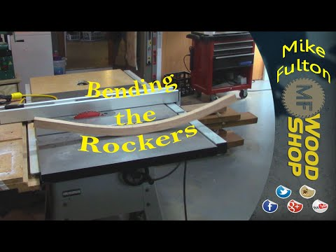Rocking Chair Build #3 Steam Bending Rockers