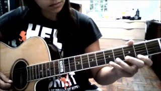 THE CRANBERRIES - LINGER ( ACOUSTIC GUITAR COVER)