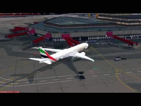 [PREPAR3D] Flight Boeing 777-300ER Emirates UUEE (Sheremetyevo) - OMDB (Dubai)