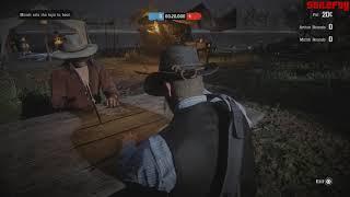 Red Dead Redemption 2 - Companion Activity #5 - Five Finger Fillet (Micah)