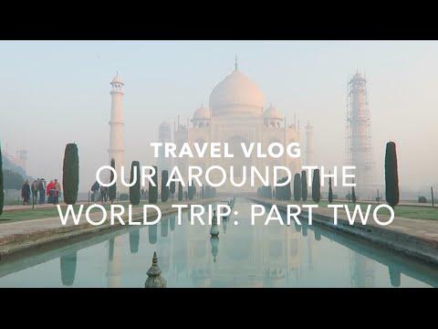 AROUND THE WORLD | TRAVEL DIARY pt 2 | DELHI / TAJ MAHAL | passportstamps.uk