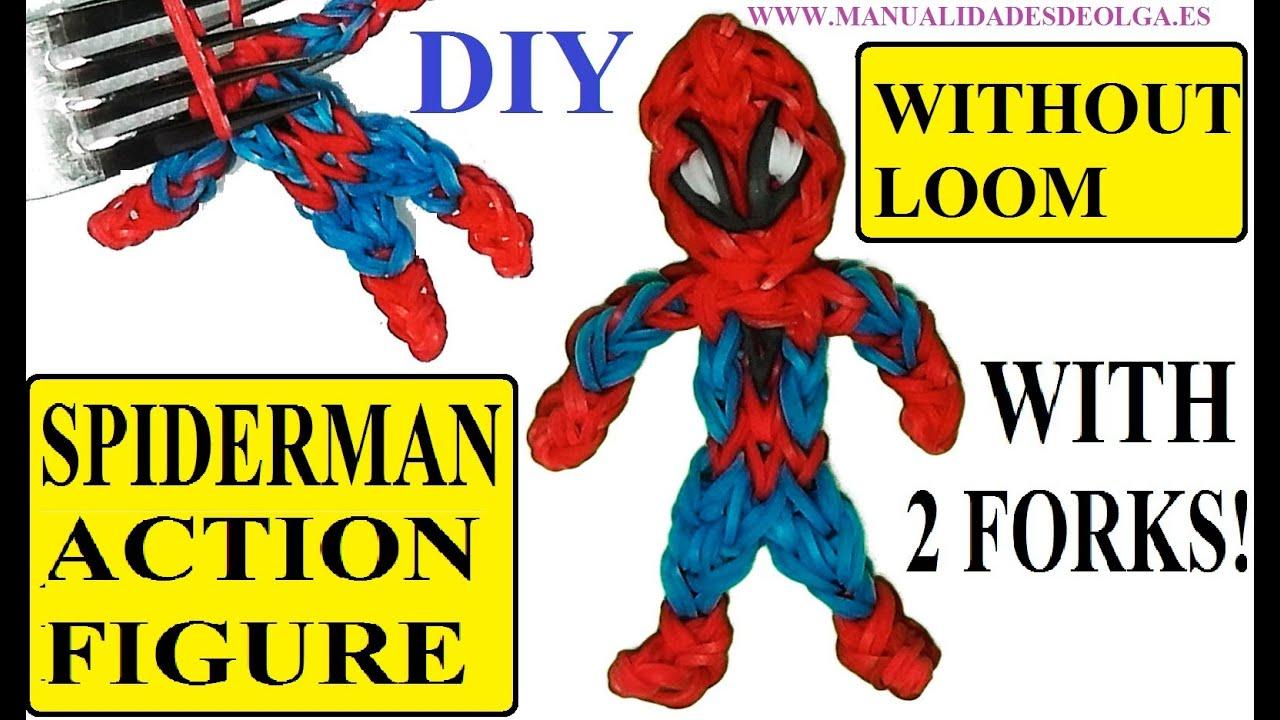 Mini figurine spiderman Clasf