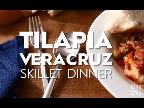 Tilapia Veracruz Skillet Dinner