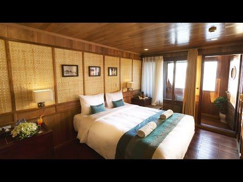 [Bhaya Classic] Premium Balcony Cabin in Halong Bay, Vietnam