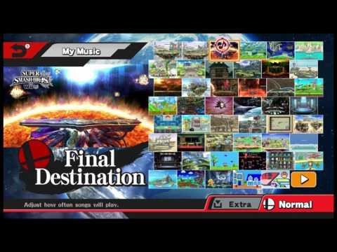 Super Smash Bros. Wii U - Music Modpack Showcase