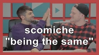 "scömìche ""being the same"""