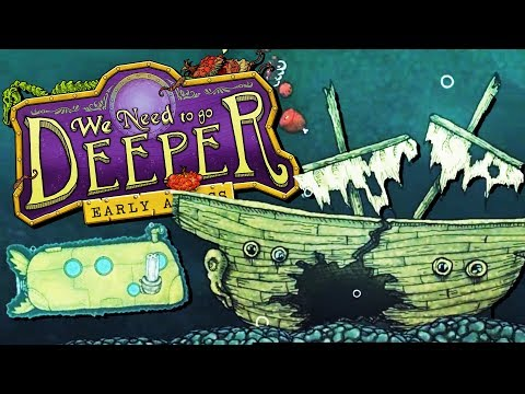 Exploring the Shipwrecked Civilization of Atlantis! - We Need To Go Deeper Gameplay