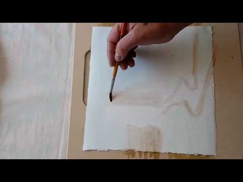 Watercolor Landscape Painting Tutorial – Fast and Loose Technique