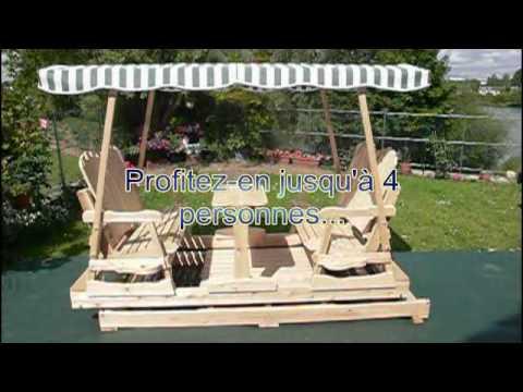 Balan oire roues pr sentation anim e youtube - Plan balancoire en bois gratuit ...