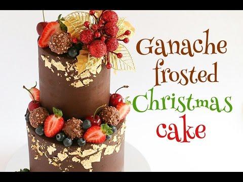 Chocolate Ganache Cake Tutotiral with Ferrero Rocher- Rosie's Dessert Spot