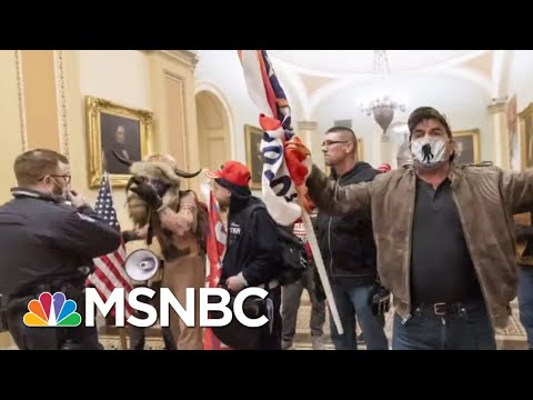 Violent Attack On U.S. Capitol A Win In Trump's Eyes As Republican Support Holds   Rachel Maddow