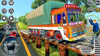 Offroad Indian Truck Spooky Stunt Driver - Mountain Heavy Cargo Truck Drive HP PC GamePlay PNN Game screenshot 3