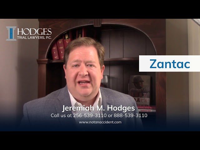 Zantac Cancer Lawsuit Attorneys