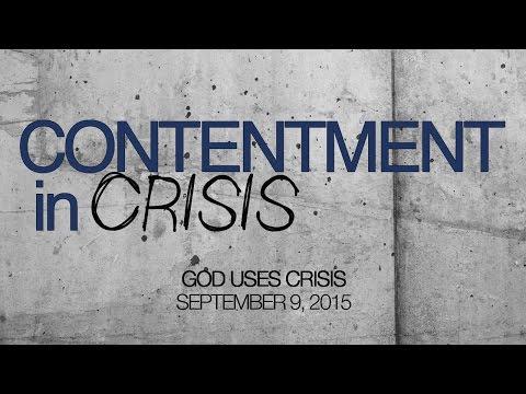 God Uses Crisis