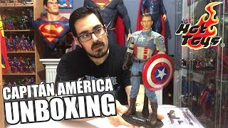 CAPITÁN AMÉRICA: El primer VENGADOR | Unboxing HOT TOYS | FIRST AVENGE
