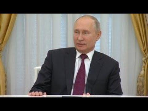 Встреча Владимира Путина с выдающимися выпускниками ВГИКа. Полное видео