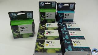 The Differences Between HP 903, 903XL And 907XL Cartridges