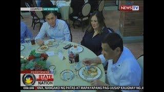 Sona: Pres. Duterte At Megastar Sharon Cuneta, Magkasamang Naghapunan
