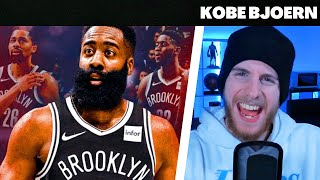 KobeBjoern reagiert auf James Harden TRADE nach BROOKLYN!! | Reaktion