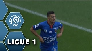 But Saïd BENRAHMA (4') / Stade de Reims - OGC Nice (0-1) -  (SdR - OGCN) / 2014-15