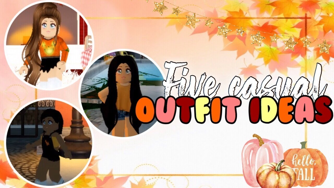 [VIDEO] - ? 5 Fall Casual Outfits! ✨(Royale High) 9