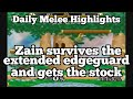 Daily Melee Highlights: Zain survives the extended edgeguard and gets the stock