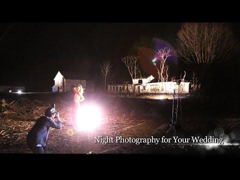 Night wedding photography settings