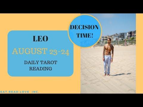 leo weekly 23 to 29 tarot reading december 2019