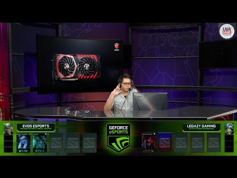Dota 2 :  EVOS Esports vs Acyuta - Legacy Gaming @ GEXT Day #16