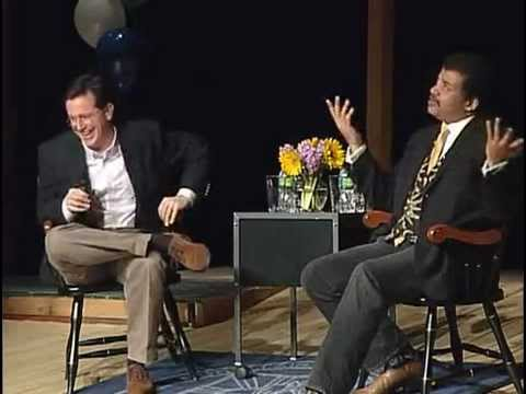 Stephen Colbert Interviews Neil deGrasse Tyson at Montclair Kimberley Academy - 2010-Jan-29