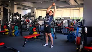 Разминка перед тренировкой. Разогрев мышц и суставов.