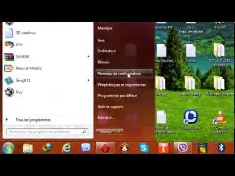 Comment afficher la barre de langue sous windows 7