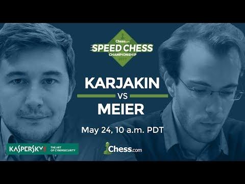 Speed Chess Championship: Sergey Karjakin vs Georg Meier