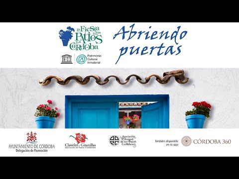'Abriendo Puertas' La Fiesta de los Patios de Córdoba 2020