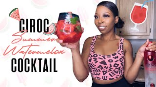 Ciroc Summer Watermelon Cocktail *21+* (Quick and Easy)